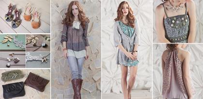 Spring 2010 fashion lookbook