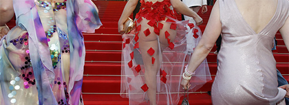 Fashion at cannes 2010
