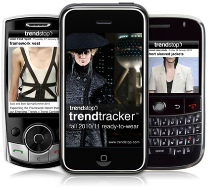 Fashion trends mobile app